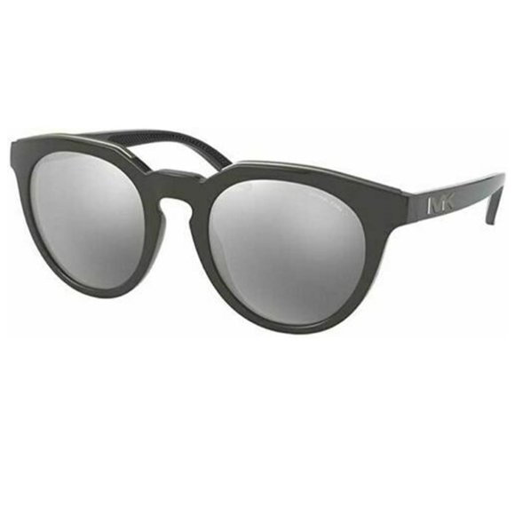 Michael  Round Style  Silver Mirrored Lens.